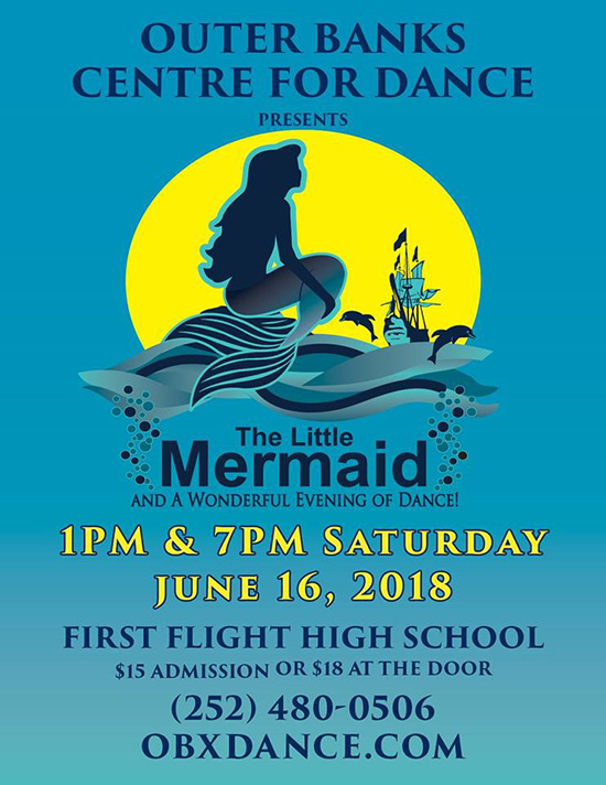 Outer Banks Centre for Dance - The Little Mermaid